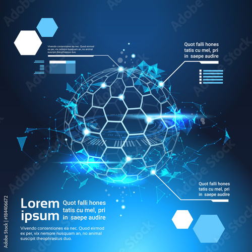 Set of infographic elements world map globe tech abstract background set of infographic elements world map globe tech abstract background template banner with copy space vector gumiabroncs Image collections