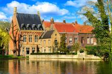 Iconic View In Bruges, Belgium...