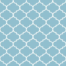 Moroccan, Hampton Pattern. Vector Art.