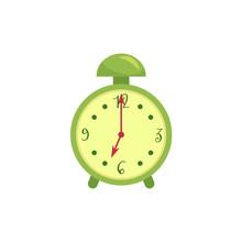 Retro Style Green Alarm Clock,...