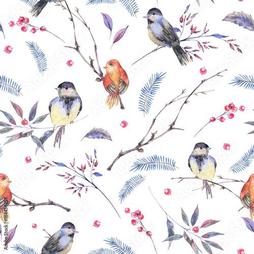 akwarela-bezszwowe-wzor-z-galezi-ptakow