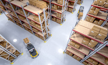 Interior Of A Warehouse Full ...