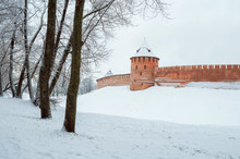 Veliky Novgorod, Russia. Tower...
