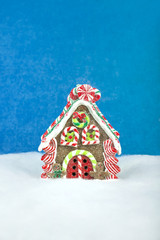 Christmas decorations - sweet house