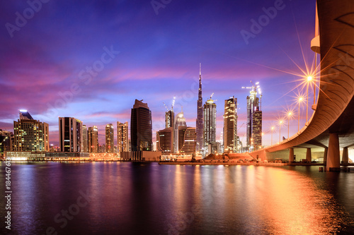 Recess Fitting Dubai Dubai downtown skyline