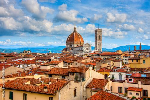 Aluminium Prints Florence Duomo of Florence Italy