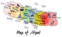Cartoon Map Of Attractions Of ...