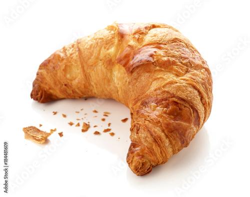 Leinwand Poster freshly baked croissant