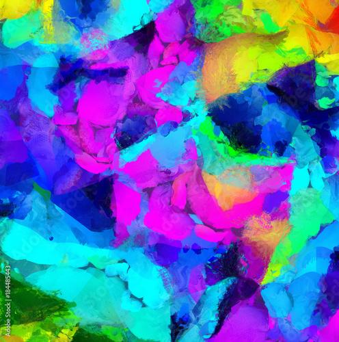 kolorowe-abstrakcyjne-malarstwo-renderowania-3d