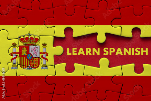 Foto  Learn Spanish - Education Concept