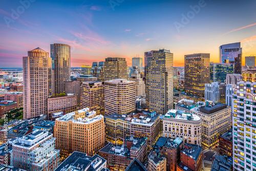 Obraz Boston, Massachusetts, USA - fototapety do salonu