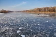 Frozen Lake Surface