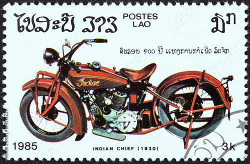 Cuadros en Lienzo Indian Chief, 1930 (Laos 1985)