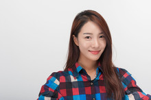 Korean Young Girl College Stud...