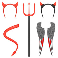 Devil Costume Accessories For ...