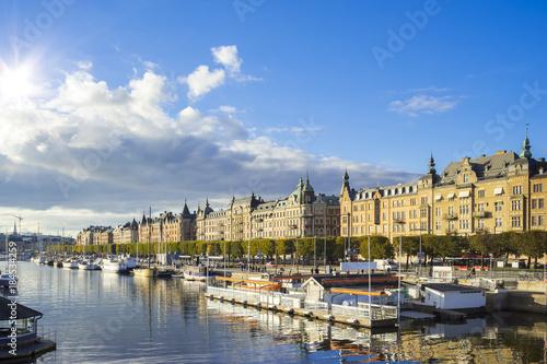 Photo  Stockholm capital city of Sweden
