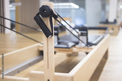 Photo  Reformer pilates studio machine