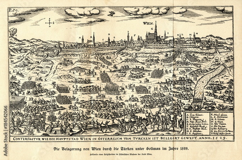 Siege Of Vienna In 1529 By The Ottoman Empire From Spamers