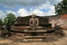 Sitting Buddha Statue In Vatad...