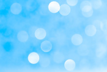 White Blue Bokeh Light Abstract Background Texture. Christmas Pattern Bokah, Wallpaper.