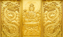 Craft Of Golden Guan Yin And D...