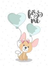 Romantic Greeting Card Valenti...