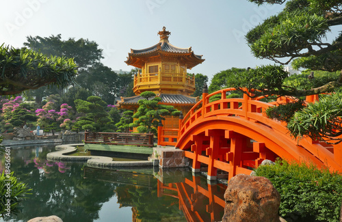 Photo Traditional chinese garden