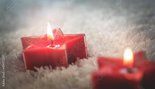 Weihnachtsgrüße Jpg.Weihnachtsgrüße Mit Kerzen Rot Buy This Stock Photo And Explore