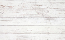 Grunge Background. White Woode...