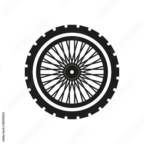 Cuadros en Lienzo motorcycle wheel