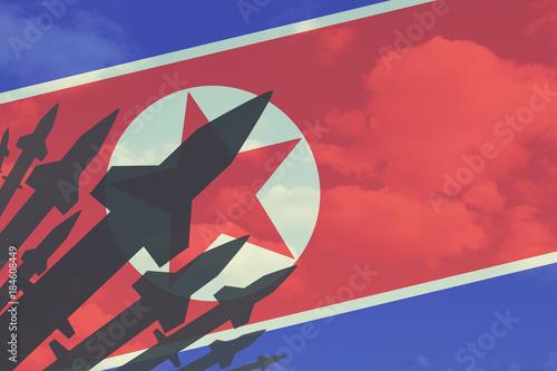 North Korea nuclear bomb Wallpaper Mural