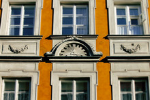 The All Seeing Eye On The Facade Of A Building