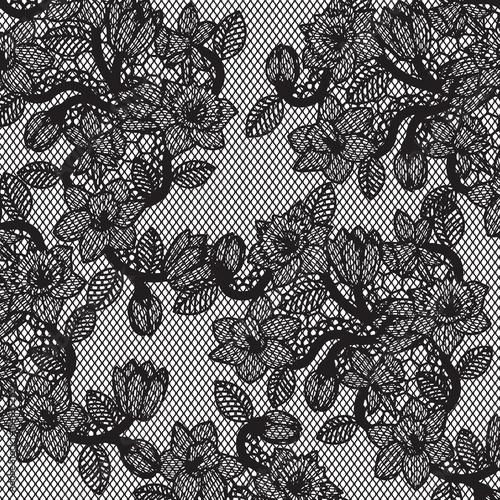lace pattern Wallpaper Mural
