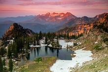 Alpine Splendor In The Wasatch Mountains, Utah, USA.