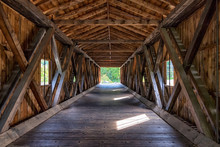 Covered Bridge Interior