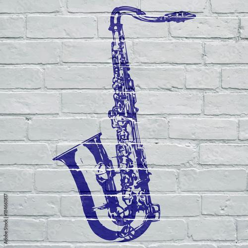 Photo Graffiti, saxophone
