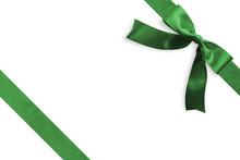 Green Bow Satin Ribbon Band St...