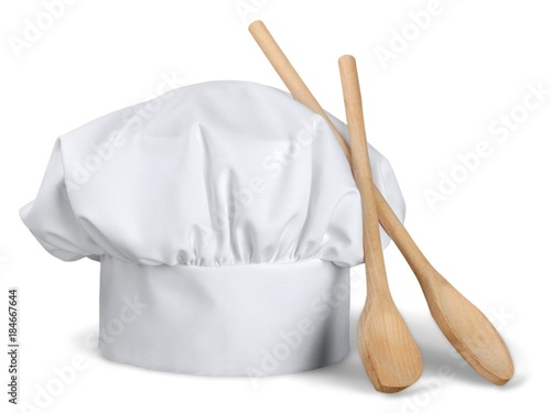 Photo Chef Hat with Wooden Spoons
