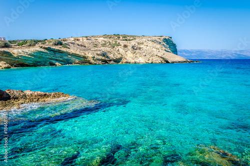 Emerald beaches of Naxos, Greece фототапет