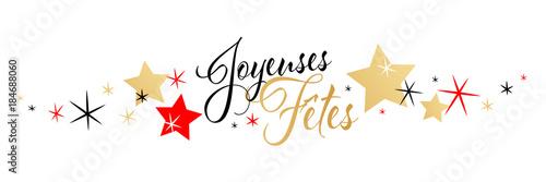 Joyeuses fêtes Canvas Print