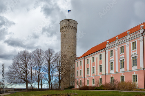 Pinturas sobre lienzo  Tall Hermann tower and Parliament building