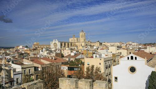 View of the city of Tarragona,spain