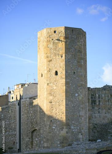 Fotografía  Roman tower in Tarragona,spain