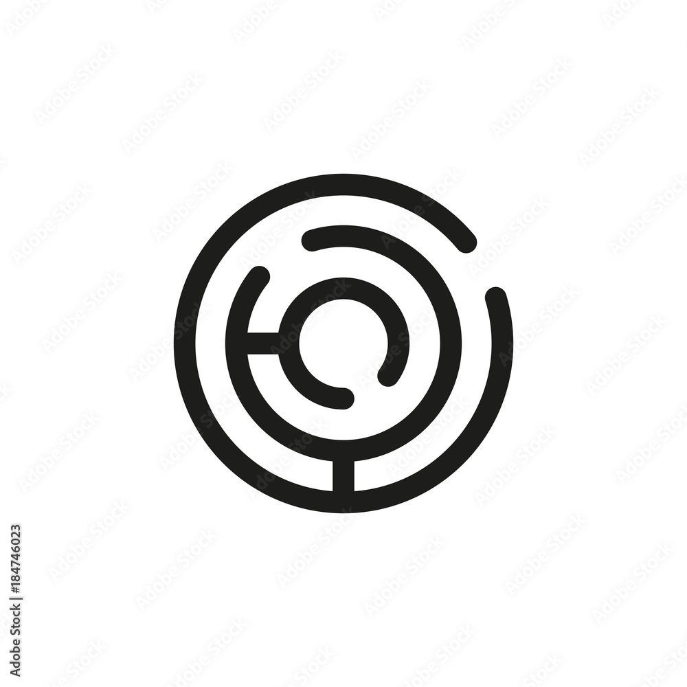 Fototapeta labyrinth
