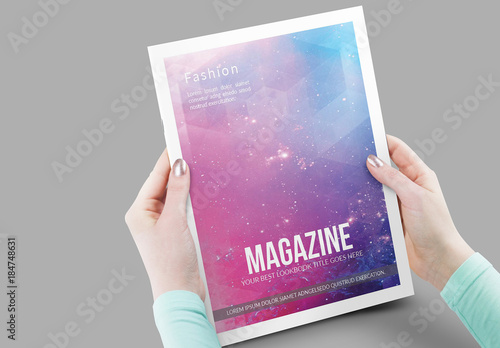 20 Page Minimalist Magazine Layout Buy This Stock Template And Explore Similar Templates At Adobe Stock Adobe Stock