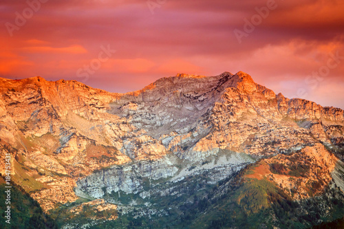 Papiers peints Corail Wasatch dawn, Utah