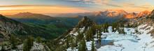 Alpine Sunrise In The Wasatch,...