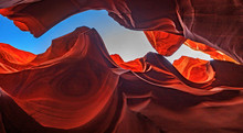Desert Slot Canyon, Arizona, U...