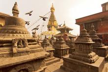 Swayambhunath Stupa In Katmand...