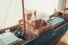Ship Model Deck, Toned